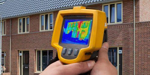 Thermografische inspectie constructie gebouw