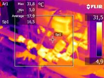 Warmtebeeld fancoilregeling