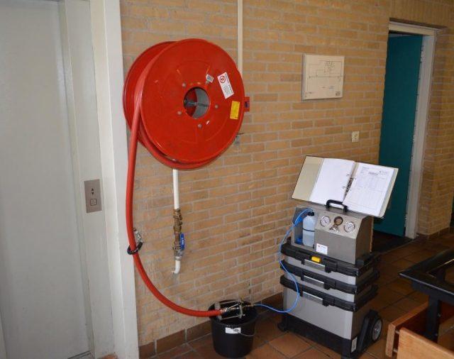 Inventarisatie drinkwaterinstallaties sporthallen en brandweerkazernes te Zaandam