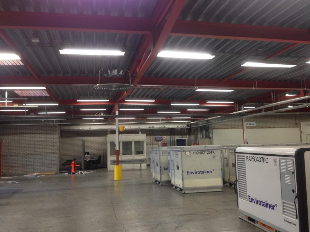 Vervanging verlichting bedrijfshal voor LED